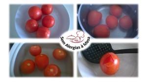 Pelar tomate